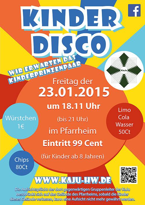 Kinderdisco 2015